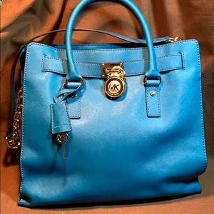 NWOT Michael Kors Hamilton Large leather bag